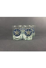 DOF - Round - Set of Four - Pewter Texas Star - EB
