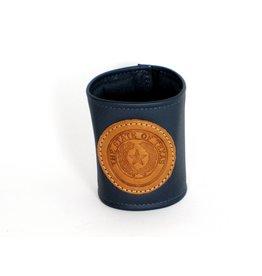 Drink Koozie - Navy - Texas State Seal