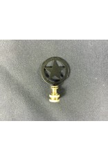 Finial - Star in Circle