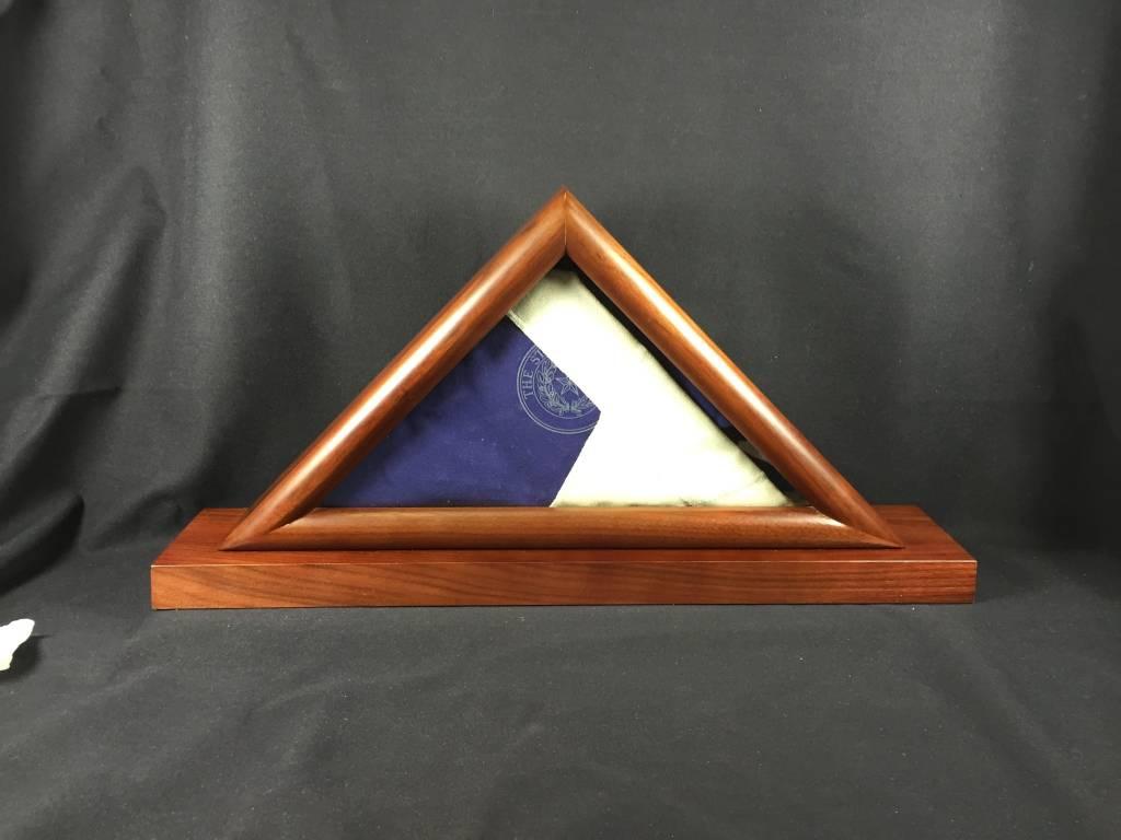 Flag Box w/ Texas State Seal