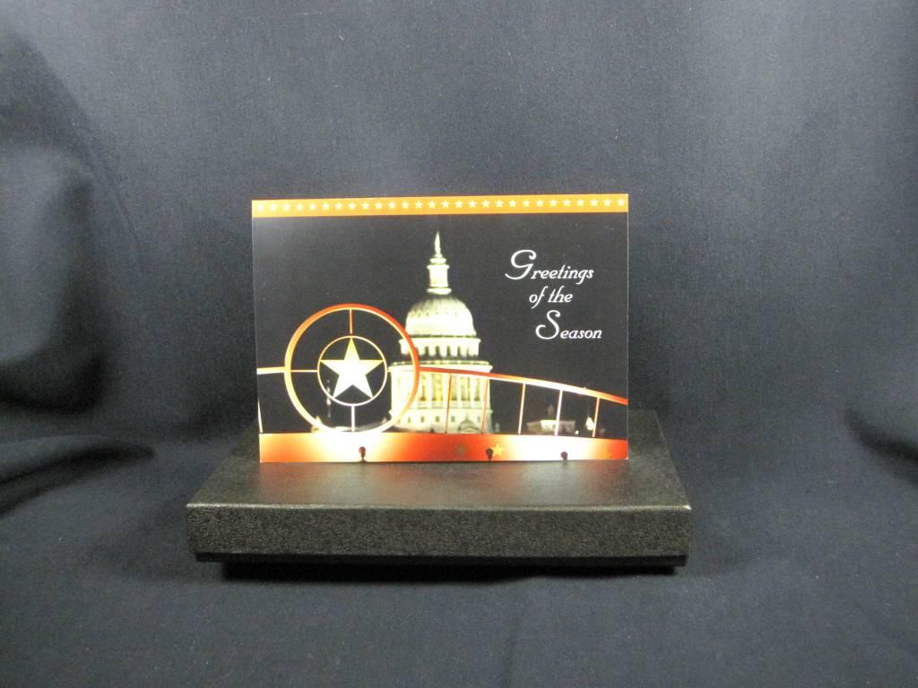 Holiday Card Set/TX Star & Capitol