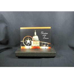 Holiday Single Card/TX Star & Capitol