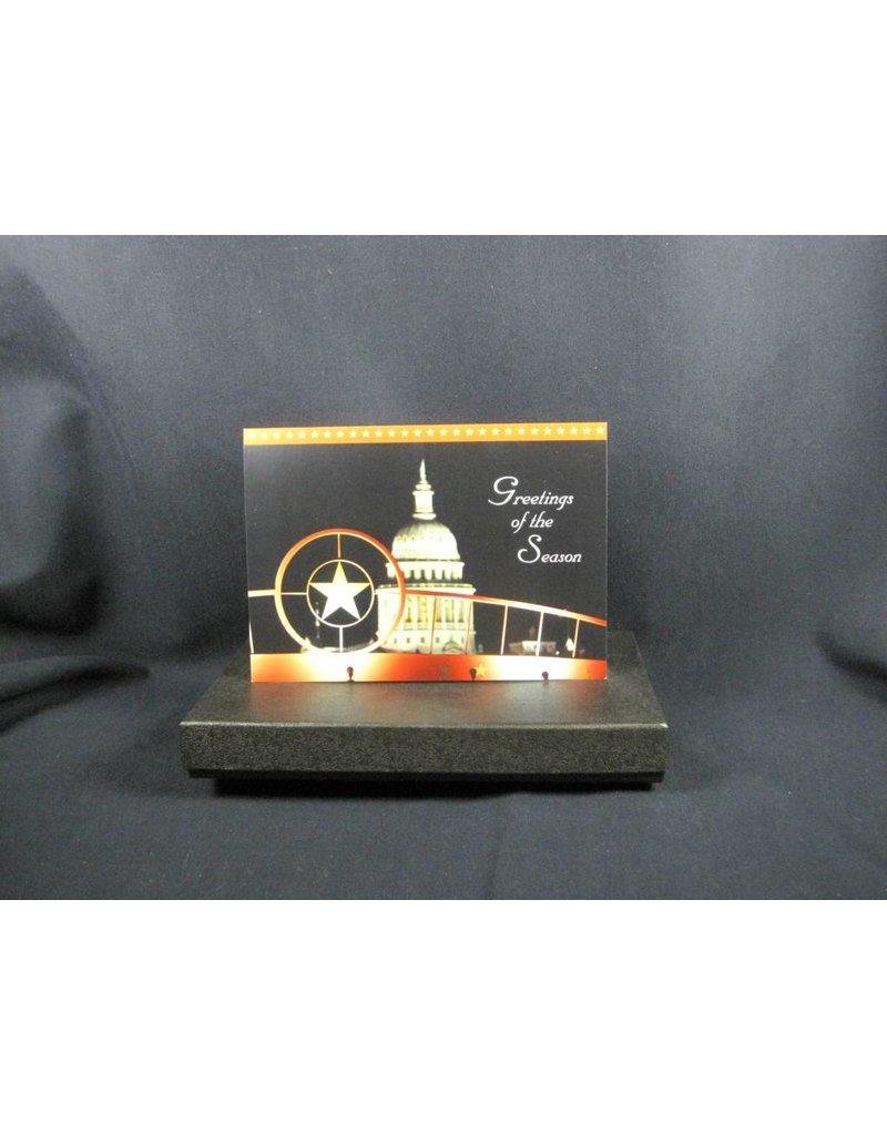 Holiday Single Card/TX Star & Capitol