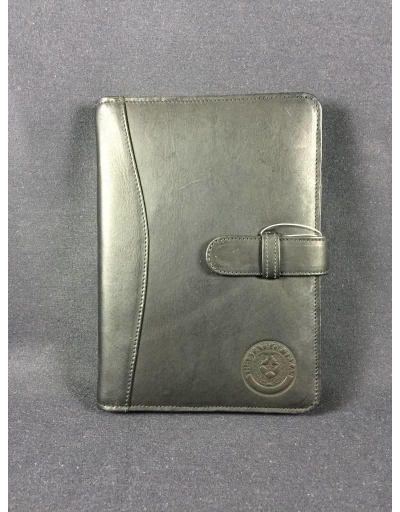 ipad mini case w/ tab BLK - Texas State Seal