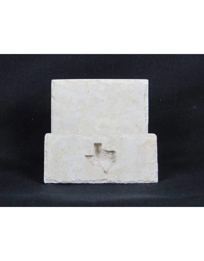 Business Card Holder - Limestone - Texas