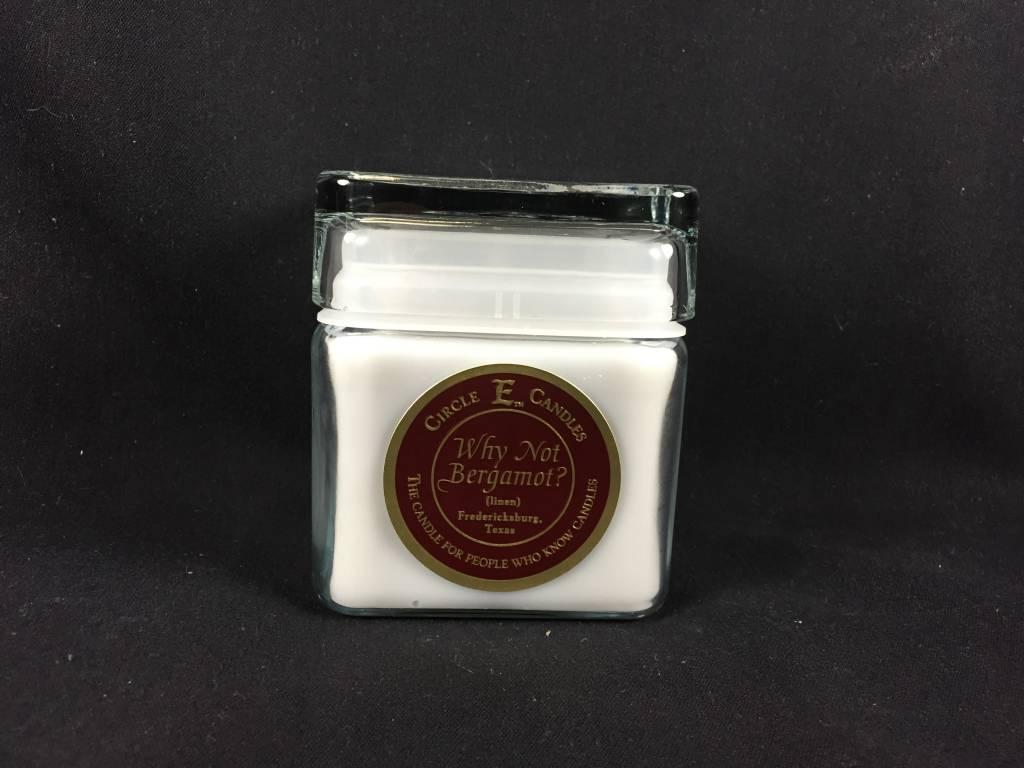 Circle E Candle - Linen - 12 oz