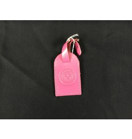 Luggage Tag - Pink - Texas State Seal