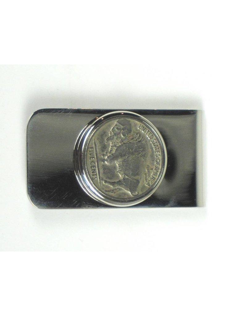 Money Clip - Buffalo Nickel