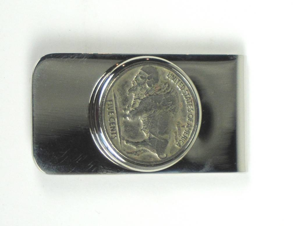 Money Clip - Buffalo Nickel