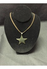 Necklace - Hammered Star