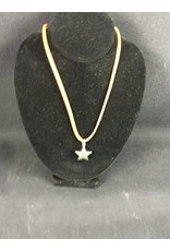 Necklace - Small Puff Star