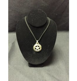 Necklace - Star in Circle