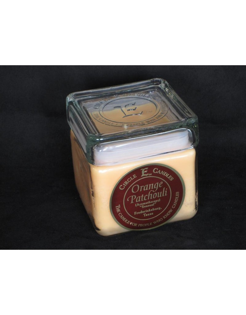 Circle E Candle - Orange Patchouli - 28 oz