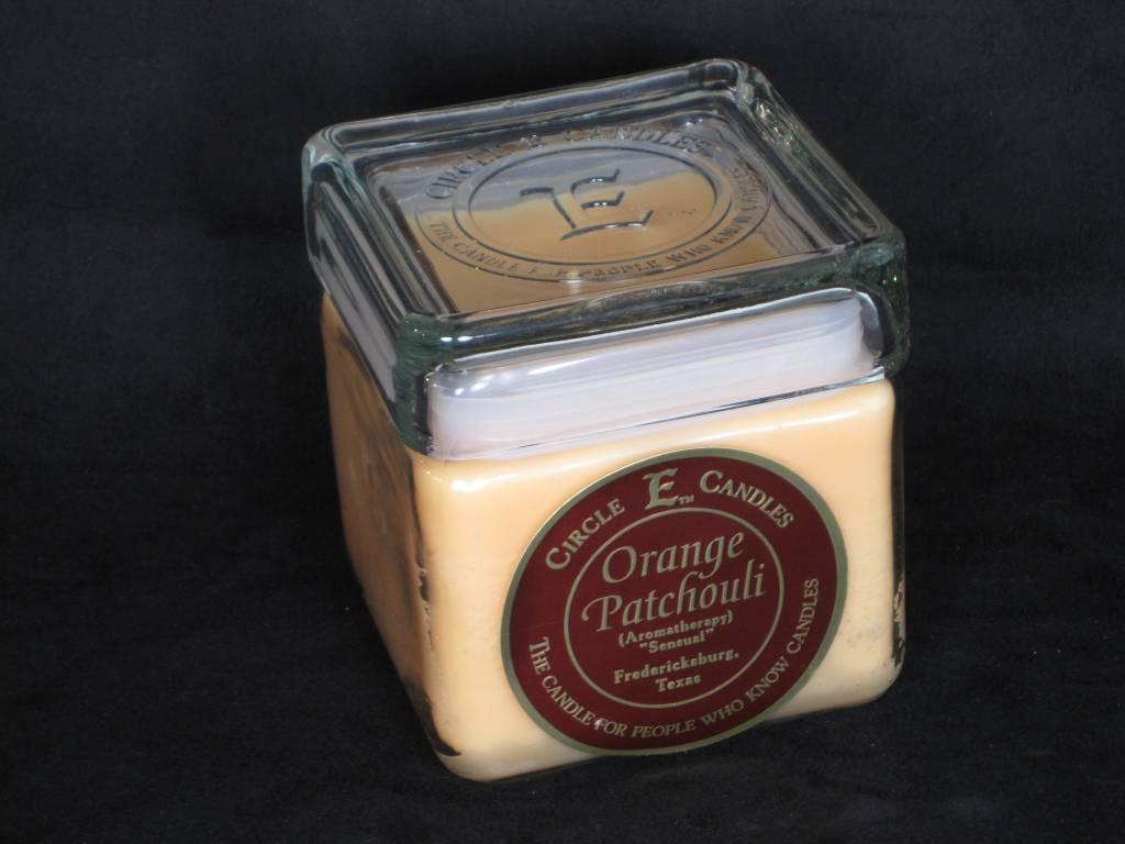 Circle E Candle - Orange Patchouli - 28 oz