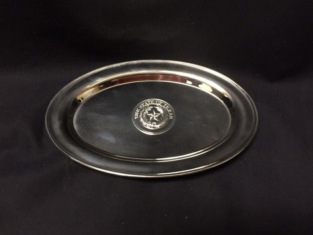Serving Tray - Texas State Seal - Classic Oval