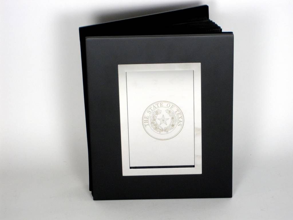 Photo Album - 4x6 Ebony - Seal