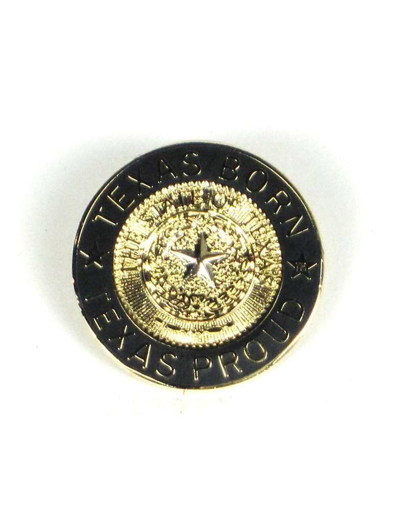Lapel Pin - Texas Born Gold