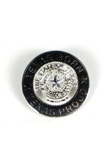 Lapel Pin - Texas Born Silver