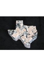 Paperweight - Pink Granite - Texas - 5""