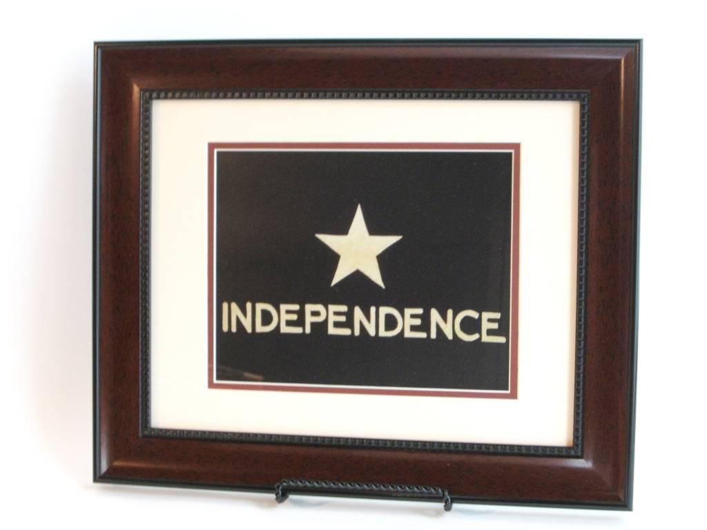 Print - Independence Flag - Mahogany