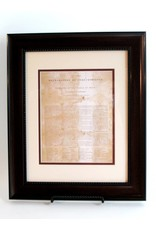 Print - Texas Declaration - Mahogony