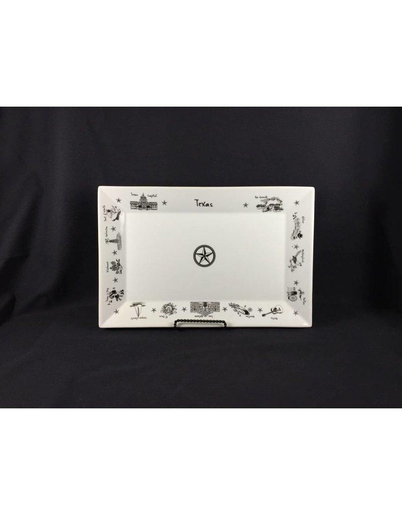 Rectangular Texas Platter