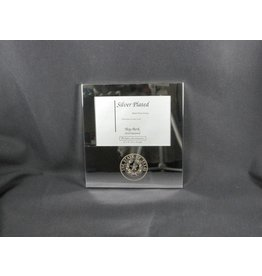 Frame - Silver Plate - 4x6 - Texas State Seal