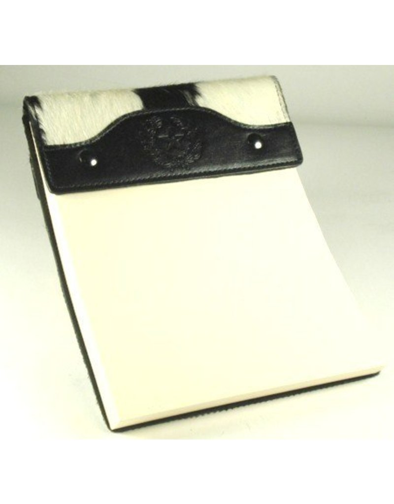 Small Notepad/B&W Hide on Hair/SS