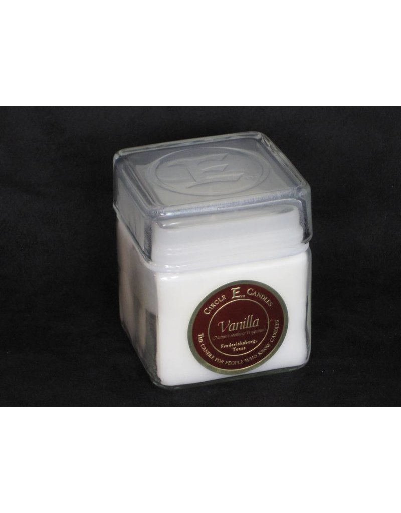 Circle E Candle - Soothing Vanilla - 12 oz