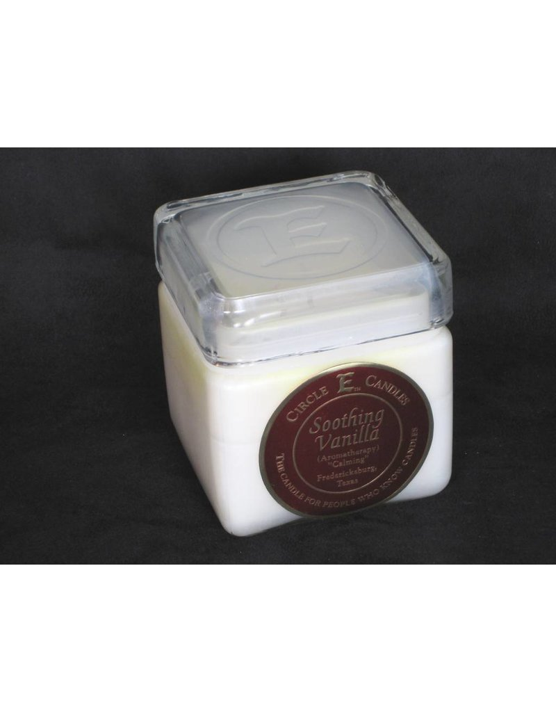 Circle E Candle - Soothing Vanilla - 28 oz