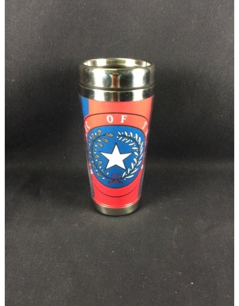 Stainless Tumbler/Rep of Texas