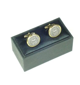 Cuff Links - Texas State Seal - Pewter