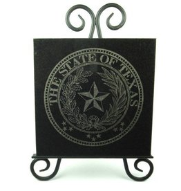 Texas State Seal Granite Tile
