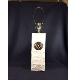 Lamp - Texas State Seal - Limestone - 14""