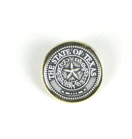 Lapel Pin - Texas State Seal - Pewter