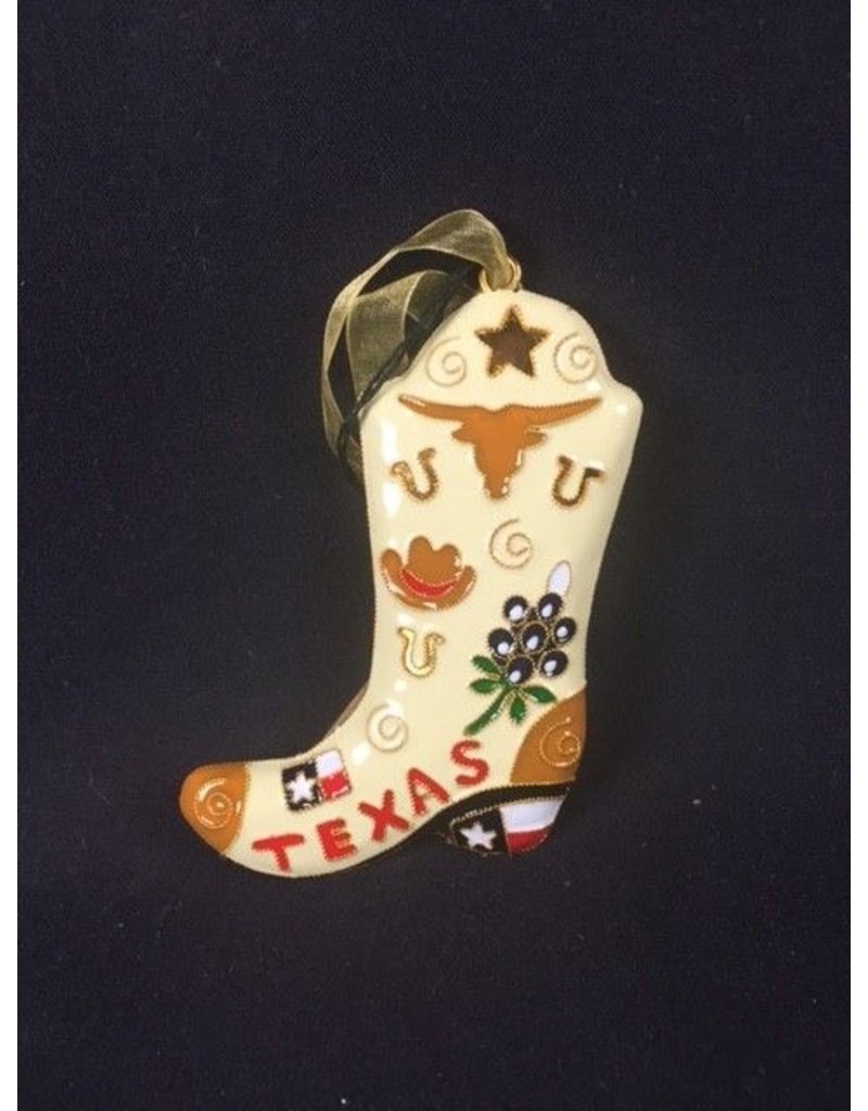 Ornament - Texas Boot Shaped