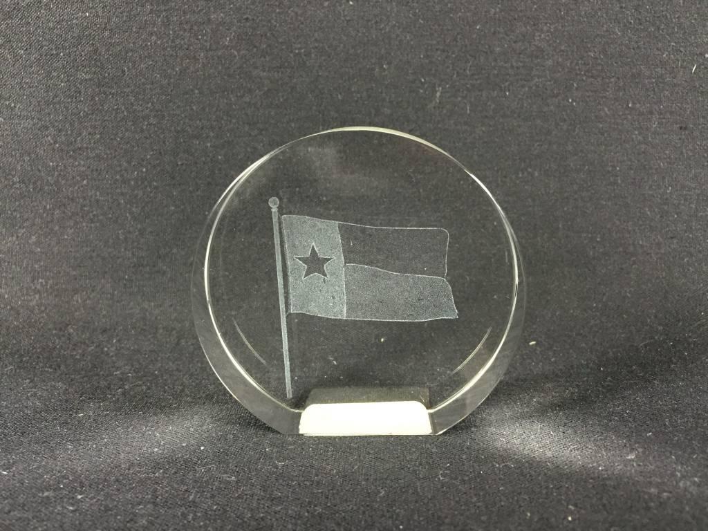 Crystal - Texas Flag