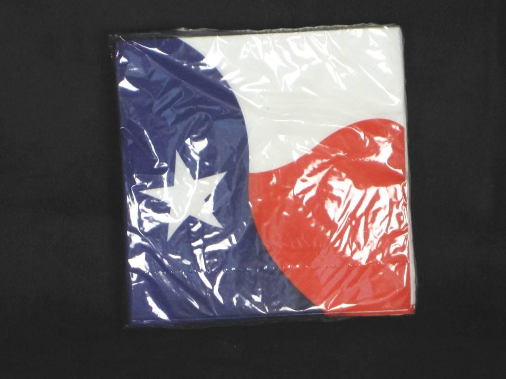 Texas Flag Napkin