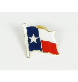 Lapel Pin - Texas Flag - on card