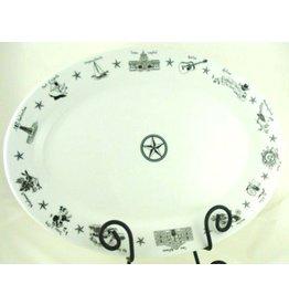 Texas Oval Platter