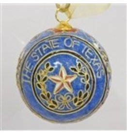 Ornament - Texas Seal - Cloisonne