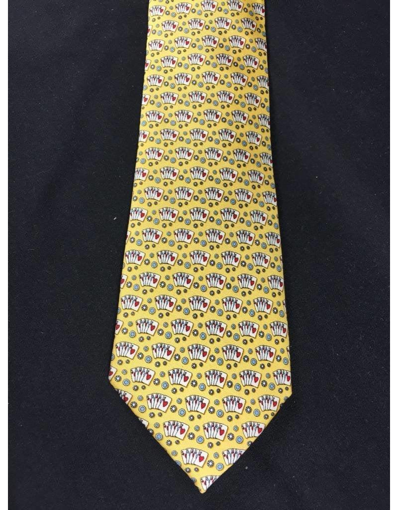 Tie - Texas Hold Em - Yellow
