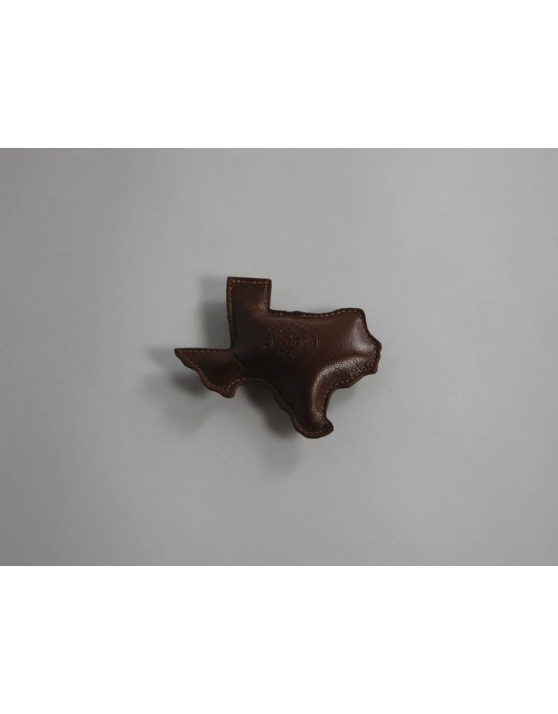 Paperweight - Texas - Brown Calf - Texas State Seal