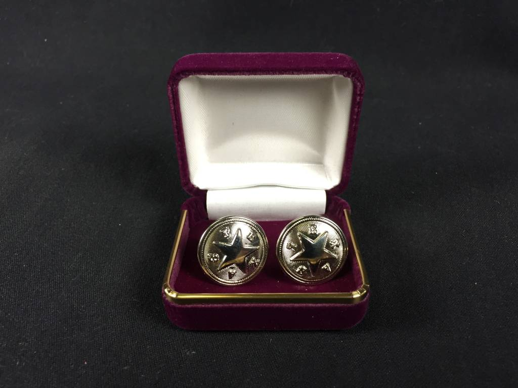 Cuff Links - Texas Star - Nickel