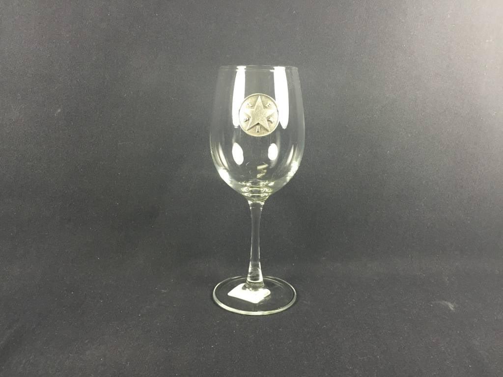 Wine Goblet - Texas Star