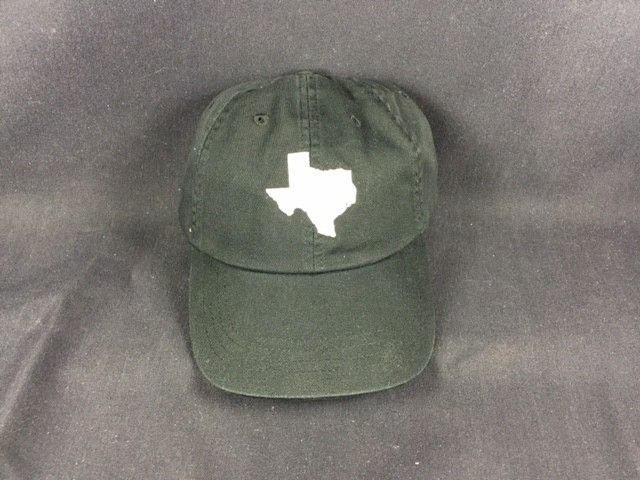 Cap - Black - Texas Shape