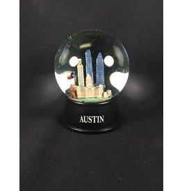 Large Austin Snow Globe