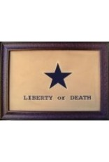Texas Art - Liberty or Death Flag Large