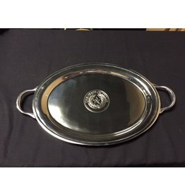 Serving Tray - Large Classic Oval - Texas State Seal