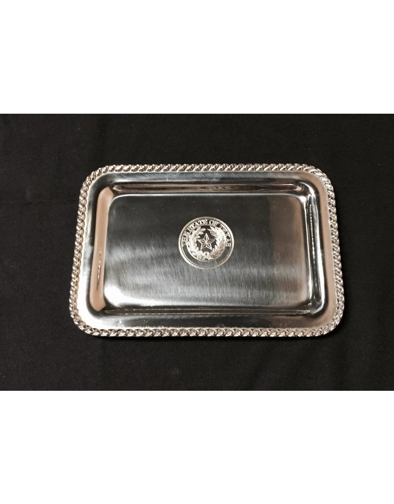 Tray - Texas State Seal - Sm Rectangular Masthead